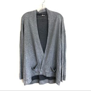 Eileen Fisher Open Front Knit Cardigan